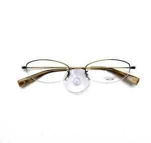 Oliver Peoples Eyeglasses 668 Titanium New Authentic 49-18-135