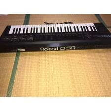 Roland D-50 Digital Linear Synthesizer Keyboard 61 Key AC100V Vintage 1987 80's