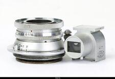 Olympus Zuiko C. 2.8/4cm Red C lens for Leica Screw Mount w. finder