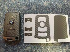 Carbon Anthrazit / Grau Schlüssel Folie BMW Key E67 5er E67  6er 7er E65 E66 E M