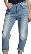 G Star Raw Type C 3D Low Tapered Boyfriend Jeans Womens 32W 30L *REF83-9