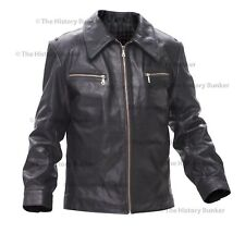 WW2 German Luftwaffe Stumbock leather jacket BLACK - repro made to order