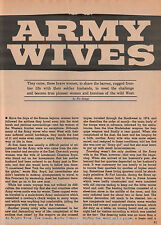 Army Wives Of Army Posts On Western Frontier+Genealogy