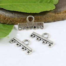 18pcs Tibetan Silver 3-to-1 Connectors Findings H1210