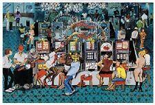 African American Art Print - Cash Flow - Annie Lee - New!