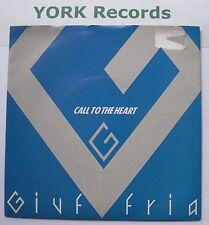 "GIUFFRIA - Call To The Heart - Excellent Condition 7"" Single MCA MCAS 935"