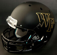 WAKE FOREST DEMON DEACONS Schutt AiR XP GAMEDAY Football Helmet (MATTE BLACK)