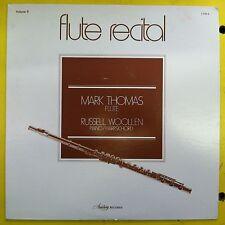 RUSSELL WOOLLEN & MARK THOMAS LP Flute Recital NM