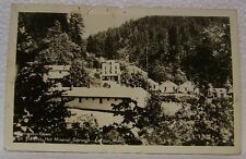 Vintage Rppc Pc Old St Martins Hot Mineral Springs Carson Washington Postcard