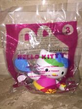 MCDONALDS HELLO KITTY LOVES TENNIS HAPPY MEAL TOY