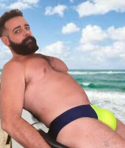RockTop Swimwear. Durable Lycra briefs for men, with perfect & comfortable fit