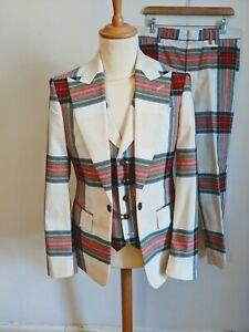 Vivienne Westwood Men's Tartan Suit Size IT 48