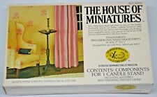 The House of Miniatures Queen Anne Candle Stand/Circa 1725-1760 Kit #40013