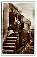 Vintage Picture Postcard In The Digey St Ives Cornwall real photo