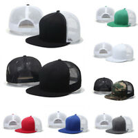 CO_ Unisex Men Women Snapback Adjustable Baseball Cap Hip-Hop Hat Cool Trucker H