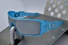 Oakley Oil Rig Frost Blue Holiday Edition 2010 Sunglasses (VERY RARE)