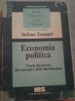 ECONOMIA POLITICA Stefano Zamagni1985, Prima edizione Prima ristampa