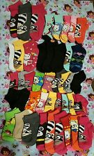 LOT OF (44) PAIRS GIRLS BABY/ TODDLER SOCKS MIX SOCK SIZE 0-12 2-3 4-6  Lot#5