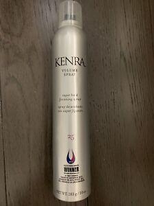 Kenra Volume Spray Hair Spray Super Hold Finishing Spray #25, 10 Oz New $28