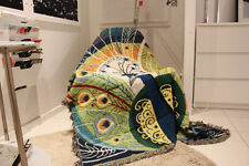 Cotton Retro Peacock Style Chair Lounge Sofa Throw Covers Blanket Wall Tapestry
