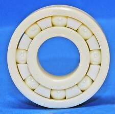 Full Ceramic 608 8x22x7 Miniature Ball Bearings ZrO2 Zirconia White Premium
