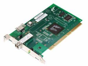 Qlogic QLA2310F Single Fibre Channel Serveur Carte 2Gbit/S Pci-X FC2310401-18 D
