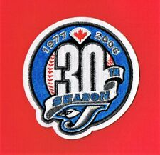 2006 Toronto Blue Jays 30th Anniversary Authentic Patch
