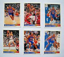 1992-93 Upper Deck Italian Team Set, Detroit Pistons, Rare Rodman Hologram Foil