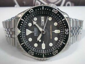 PRE-OWNED SEIKO SCUBA DIVER 7S26-0020 SKX007K AUTOMATIC MEN'S WATCH 261075