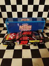 ERNIE IRVAN 1996 # 28 TEXACO HAVOLINE THUNDERBIRD RYR 1/24 ACTION NASCAR DIECAST