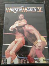 Wrestlemania V DVD- LIKE NEW!!
