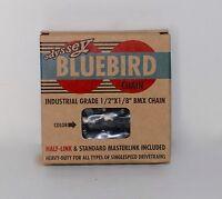 """ODYSSEY BLUEBIRD BICYCLE BIKE BMX CHAIN 1/2""""X1/8"""" BLACK NEW"""