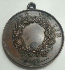FRANCE - Médaille XIXe Société de Tir VILLE DE SENS ( Yonne ) 89 / RARE