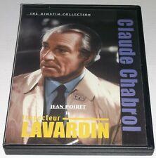 INSPECTEUR LAVARDIN - CLAUDE CHABROL w/Jean Poiret - The Kimstim Collection DVD