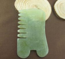 Natural Jade Stone Guasha Gua Sha Board Comb Shape Massage Healthy Massage Tool