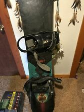 burton snowboard used, black with design, good condition
