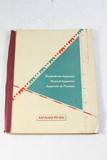 vecchio Libro Fisica Apparato Catalogo PH 300 DDR old vintage