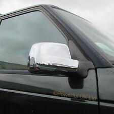 COPPIA di porta cromata ALA SPECCHIO copre per Range Rover P38 VOGUE ANNIVERSARIO Cap