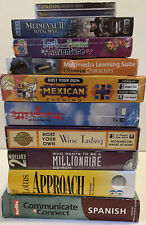 Vintage Computer PC Software and Game Lot of 11