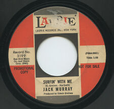 Hear - Rare Surf/Teen 45 - Jack Murray - Surfin' With Me - Laurie Records # 3199