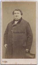 Portrait d'un homme Paris cdv Carjat Vintage albumine ca 1860