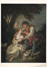 Venus und Amor 1752 Boucher Postkarte