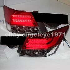2008-2012 Year For HONDA Accord Sedan 4-Door LED Tail Lights BMW Style Red White