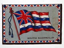 South Australia Antique Tobacco Vintage Flannel Felt World Flag /Patchwork Quilt