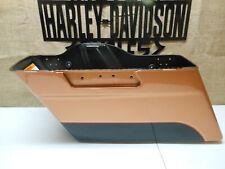 OEM HARLEY 2008 TOURING 105TH ANNIVERSARY LEFT SADDLEBAG BOTTOM COPPER BLACK