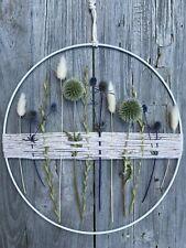 Nachhaltige Deko: Trockenblumen Flowerhoop, 25cm **verschiedene Disteln & mehr**