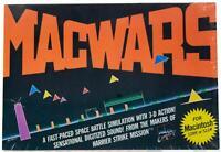 MACWARS For MACINTOSH Space Battle VTG 80s Computer 128K 512K MAC GAME 1985 OOP