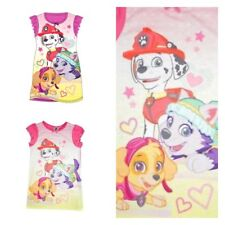 23d2b2e299 Girls Kids PAW Patrol Skye Chase Nightie Night Dress Nightwear Nick Jr  Childrens