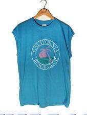 Vintage 90s California Beach Club sleevless t shirt tank top XL