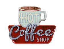 Blechschild Kaffee Cafe bar Coffee Shop